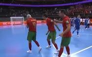 Thắng Kazakhstan ở loạt sút luân lưu, Bồ Đào Nha gặp Argentina ở chung kết Futsal World Cup