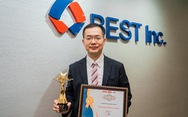 BEST Express đạt giải Thương hiệu mạnh Việt Nam năm 2021