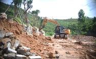 Tháo dỡ công trình trái phép ở khu đất rừng bị san ủi