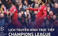 Lịch trực tiếp Champions League: Atletico Madrid - Liverpool, PSG - Leipzig