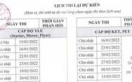 TP.HCM: chuyển lịch thi chứng chỉ ngoại ngữ năm 2021 sang 2022