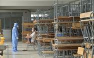 Gấp rút dọn trường đón học sinh