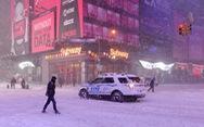 Bão tuyết lớn hoành hành ở Mỹ, New York ban bố tình trạng khẩn cấp