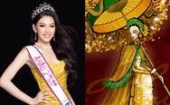 Bản vẽ quốc phục 'Lá ngọc cành vàng' tham gia Miss Grand International