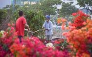 Thuyền hoa cập Bến Bình Đông chở tết đến Sài Gòn