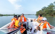 Độc đáo tour thưởng ngoạn không gian sống sinh thái tại Aqua City bằng đường sông