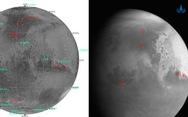 Tàu thăm dò Trung Quốc gửi về hình ảnh đầu tiên của sao Hỏa