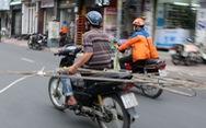 Loại dần xe nát, xe tự chế tung hoành đường phố