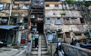 Khó tin nổi trước hình ảnh những chung cư quá nguy hiểm ở Hà Nội