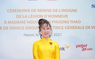Doanh nhân Nguyễn Thị Phương Thảo nhận Huân chương Bắc đẩu bội tinh