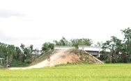 Cầu xây xong không có đất làm đường dẫn