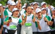 Nutrilite lan tỏa thông điệp sức khỏe ý nghĩa trong ngày hội chạy bộ