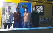 Phát hiện 2 sà lan bơm cát chở người nhập cảnh trái phép vào Phú Quốc