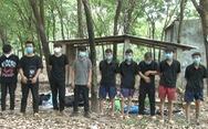 Bị phát hiện nhập cảnh trái phép, 9 người Trung Quốc trốn vào vườn điều