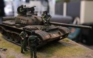'Choáng' với mô hình 'cực kỳ chất' mô tả khí tài quân sự tham gia chiến dịch Hồ Chí Minh