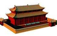 Hoàng cung Thăng Long thời Lý nguy nga qua hình ảnh phục dựng 3D