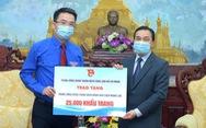 Trung ương Đoàn tặng 50.000 khẩu trang hỗ trợ thanh niên Campuchia, Lào