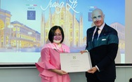 Ý tặng Huân chương công trạng, tước hiệu hiệp sĩ cho bà Trang Lê
