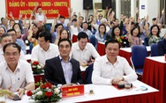 Cử tri tín nhiệm Bí thư thành ủy Hà Nội Đinh Tiến Dũng ứng cử đại biểu Quốc hội