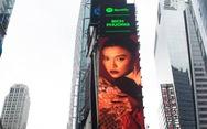 Hình ảnh Bích Phương xuất hiện ở quảng trường Thời Đại, New York