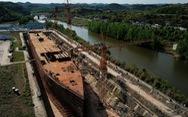 Trung Quốc dựng bản sao tàu Titanic làm điểm du lịch