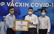 ĐH Nguyễn Tất Thành trao 50 triệu đồng 'Cùng Tuổi Trẻ góp vắc xin COVID-19'
