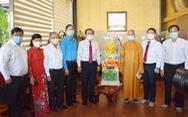 Lãnh đạo TP.HCM thăm cá nhân, đơn vị Phật giáo tiêu biểu
