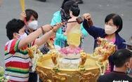 Giáo hội Phật giáo phát động tuần Tắm Phật online góp quỹ phòng chống COVID-19
