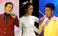 Tạ Minh Tâm, Hiền Thục, Hồ Trung Dũng hát mừng bầu cử