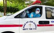 Hai tài xế lái xe cứu thương từ Nghệ An ra 'chia lửa' với Bắc Giang