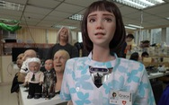 Robot y tá Grace, 'em gái' của công dân robot Sophia