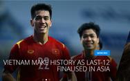 Việt Nam trở thành 'vedette' trên trang chủ FIFA