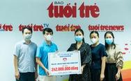 Công ty dệt may Nam Dương tặng 1.000 bộ đồ bảo hộ phòng dịch cho TP.HCM