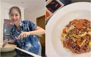 Cơm ngũ sắc của á hậu Kiều Loan: Công thức là lục tủ lạnh có gì phù hợp cho luôn vào!