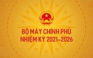 Bộ máy Chính phủ nhiệm kỳ 2021-2026
