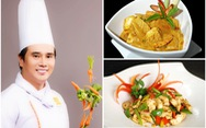Bếp trưởng Tạ Đình Nhựt bày món dễ làm: Rau củ kho, cà ri rau củ, gà xào ớt chuông