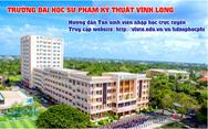 Trường ĐH Sư phạm Kỹ thuật Vĩnh Long  'Nhập học và học… tại nhà', điểm sáng an toàn phòng chống dịch