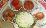 Lạ miệng với pizza bắp cải từ xứ Hàn vào bếp nhà mình