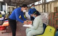 470 gói thực phẩm đến với bệnh nhân, người nhà bệnh nhân