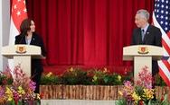 Thăm Singapore, bà Kamala Harris tái xác nhận cam kết của Mỹ ở Biển Đông