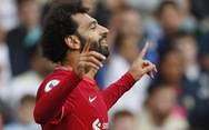 Salah ghi bàn thứ 100, Liverpool bắt kịp Man Utd, Chelsea trên ngôi đầu