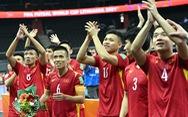 Tuyển futsal Việt Nam: 'Hình ảnh từ băng ghi hình ở quê nhà giúp rất nhiều cho tinh thần chúng tôi'