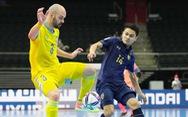 Thái Lan chia tay World Cup futsal 2021 sau trận thua 0-7
