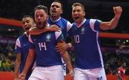 Cùng chật vật vượt qua tứ kết, Brazil chạm trán Argentina tại bán kết World Cup futsal