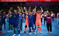 Lội ngược dòng thắng Iran, Kazakhstan vào bán kết gặp Bồ Đào Nha ở Futsal World Cup