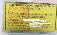 Hải Dương: Huyện chỉ đạo xã hoàn tiền 'mua' thẻ thông chốt