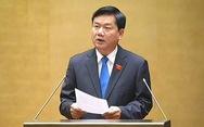 Bộ trưởng Đinh La Thăng bắt đầu trả lời chất vấn