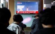 Triều Tiên lại bắn tên lửa xuống vùng biển Nhật Bản