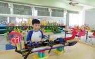 Học sinh tiểu học Đài Loan thi môn robot để tốt nghiệp
