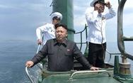 Mỹ lo tàu ngầm Triều Tiên tiếp tục thử phóng tên lửa
